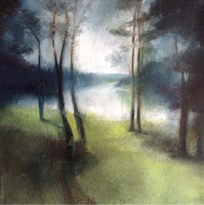 FC Heathorn   Lake through the Trees
