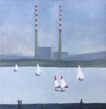 FC Heathorn | Poolbeg Chimneys and Sailing Boats
